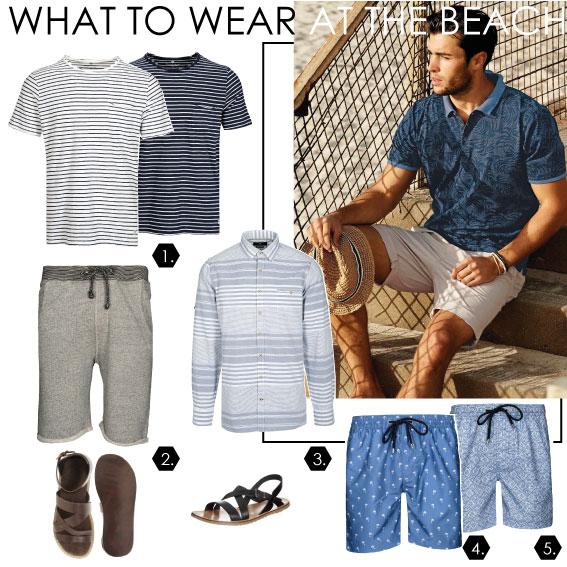 Strand-Outfit für Ihn