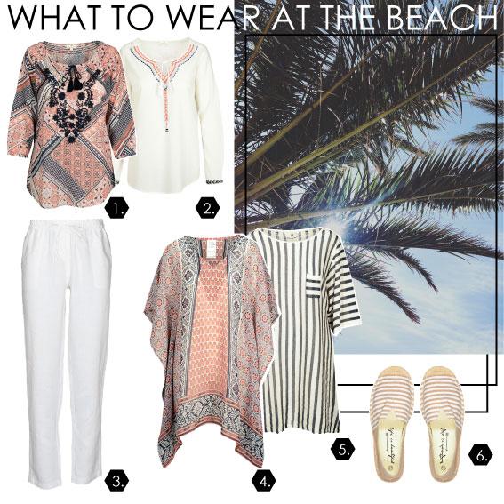 Strand-Outfit für Sie