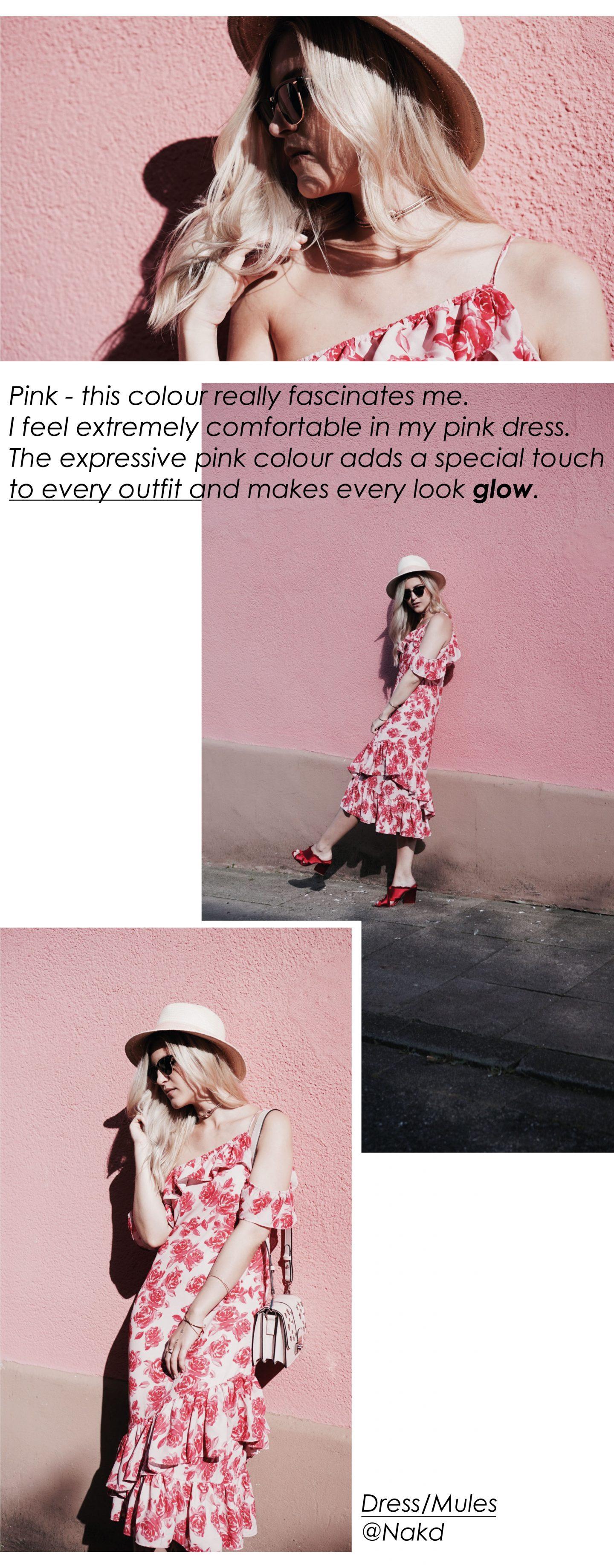 Na-kd Dress Pink