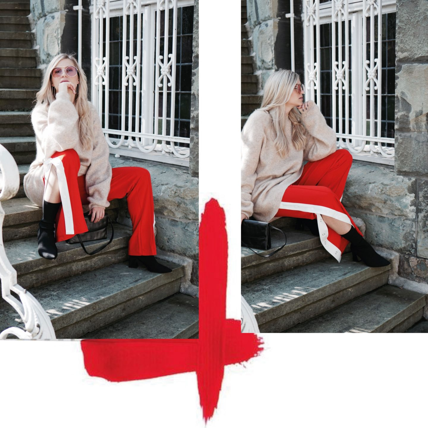 Trendfarbe Rot