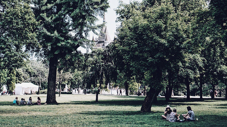 Budapest Burgpark Vajdahunyad