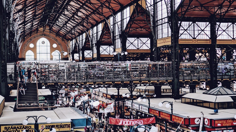 Budapest Zentrale Markthalle