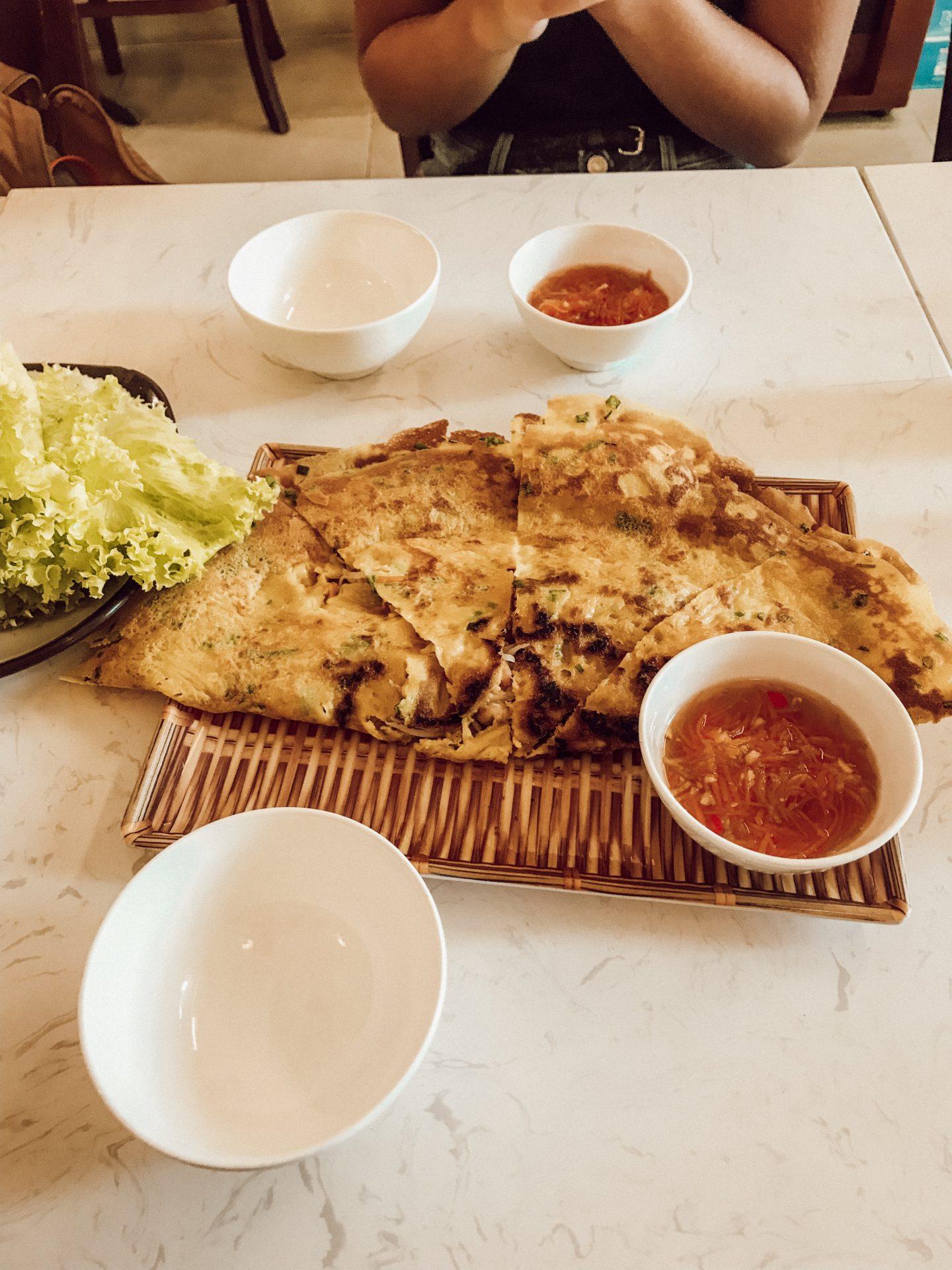 Vietnamesische Pancakes